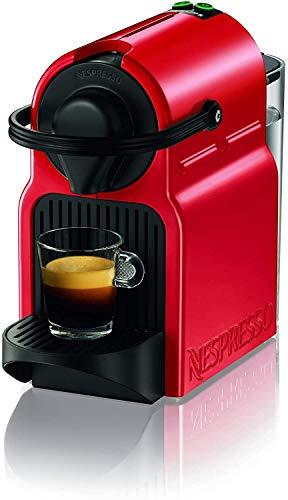 Machine à café Nespresso Inissia Espresso, capsule, 1260 W, 0,7 L, rouge (rouge rubis)
