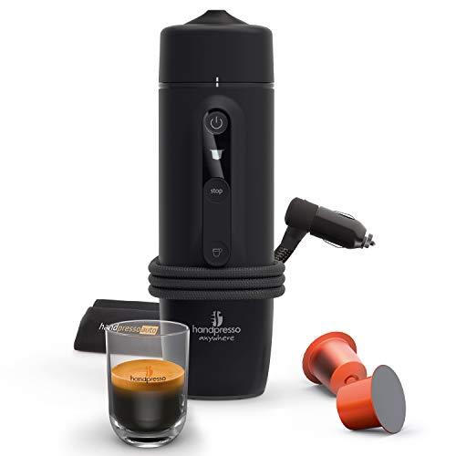 HANDPRESSO - NOUVEAU Handpresso Auto Capsule 21020 Capsule compatible Nespresso Machine à expresso portable 12V 24V