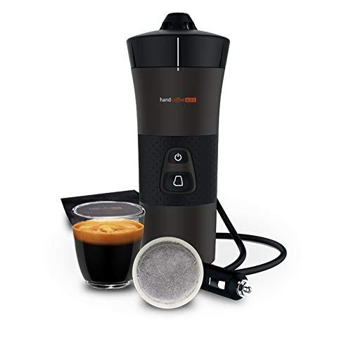Handpresso - Nouvelle machine à café portable à dosettes pour voiture Handcoffee Auto 21000 12 V