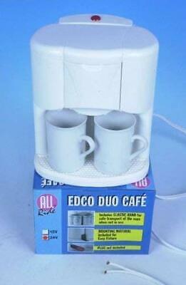 Machine à café 24V avec filtre à cône à défilement lavable 2 tasses 03346