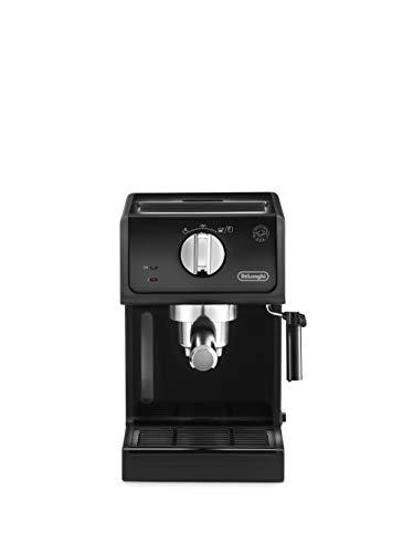 De Longhi ECP31.21 Machine à expresso et cappuccino manuelle, café en poudre ou dosettes E.S.E., 1100 W, noir
