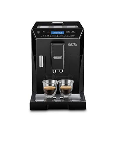 De Longhi ECAM44.660.B Eletta Cappuccino Machine à café automatique, 1450 W, 2 tasses, acier inoxydable, noir