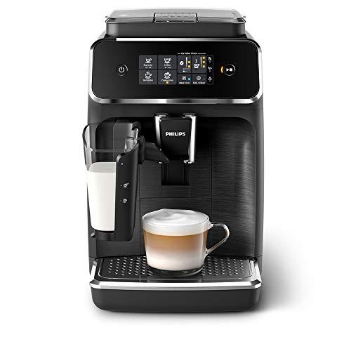 Philips 2200 Serie (SensorTouch Benutzeroberfläche) Schwarz Mattschwarz Machine à café automatique, Plastique