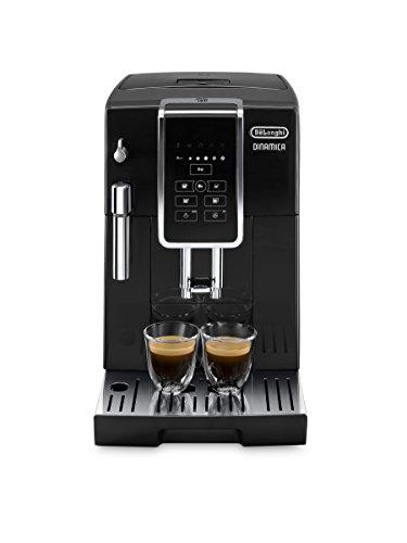 DeLonghi ECAM 350.15.B Machine à café automatique, capacité 2 tasses, noir, écran LCD