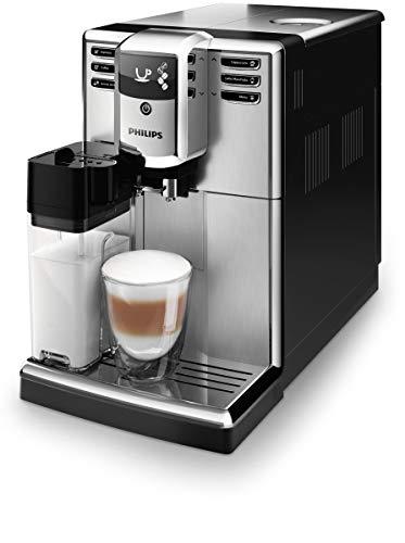Philips EP5365 10 Serie 5000 Macchina da Caffè Automatica, 230 V, 1.8 l, con Macine in Ceramica, Filtro Aquaclean, Argento
