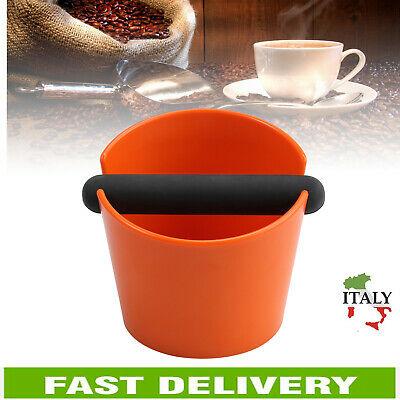 Boîte à café en ABS contenant du café moulu Knock Box avec barre amovible