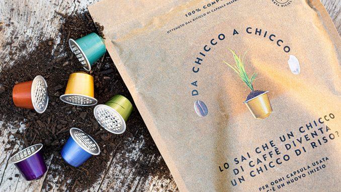 Dalle capsule al riso, il progetto di economia circolare di Nespresso Italia Nespresso, riciclo delle capsule di caffè per salvare l