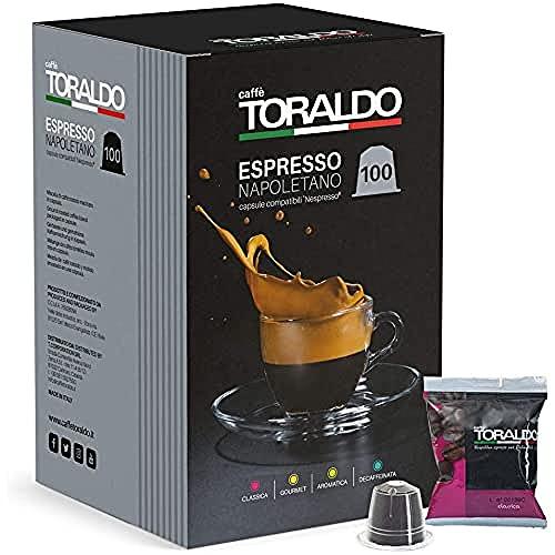 Toraldo Espresso Café Napolitain, Paquet de 100 Capsules