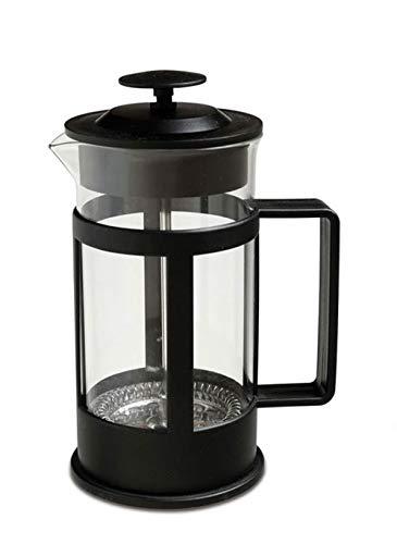 Vetrineinrete Cappuccinatore montalatte Manuale in Vetro 300 ml Macchina per Cappuccino Schiuma caffè Latte B1