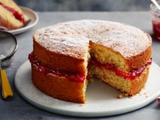 Recette de gâteau éponge Victoria de Mary Berry