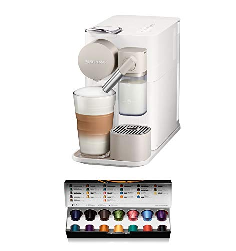 Machine à café expresso Nespresso Lattissima One EN500.W, couleur blanche