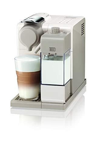 De'Longhi Nespresso Lattissima Touch Animation EN560.W Machine à café expresso, portionnée, fermée, 1400 W, 1 tasse, 19 bars, plastique, beige