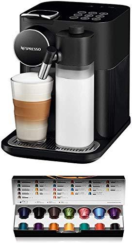 DeLonghi Nespresso EN650B Gran Lattissima - Machine à café avec système à capsules, Noir