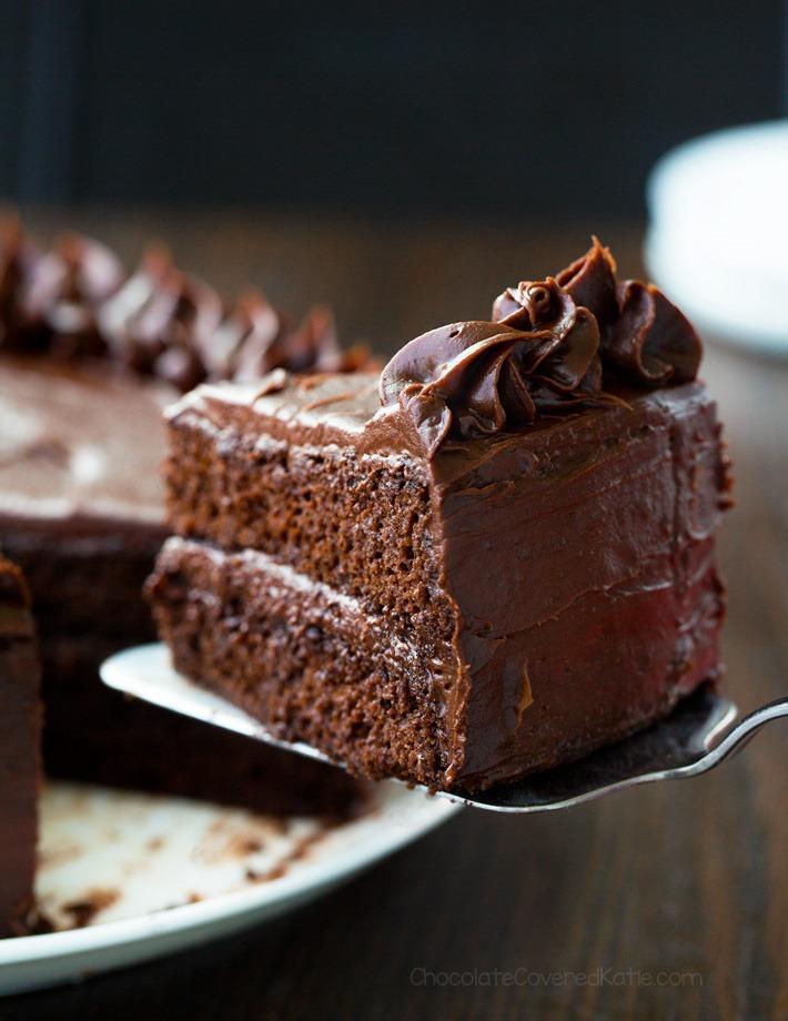 Gâteau au chocolat à faible teneur en glucides