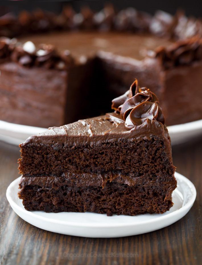 Le meilleur gâteau au chocolat sans farine