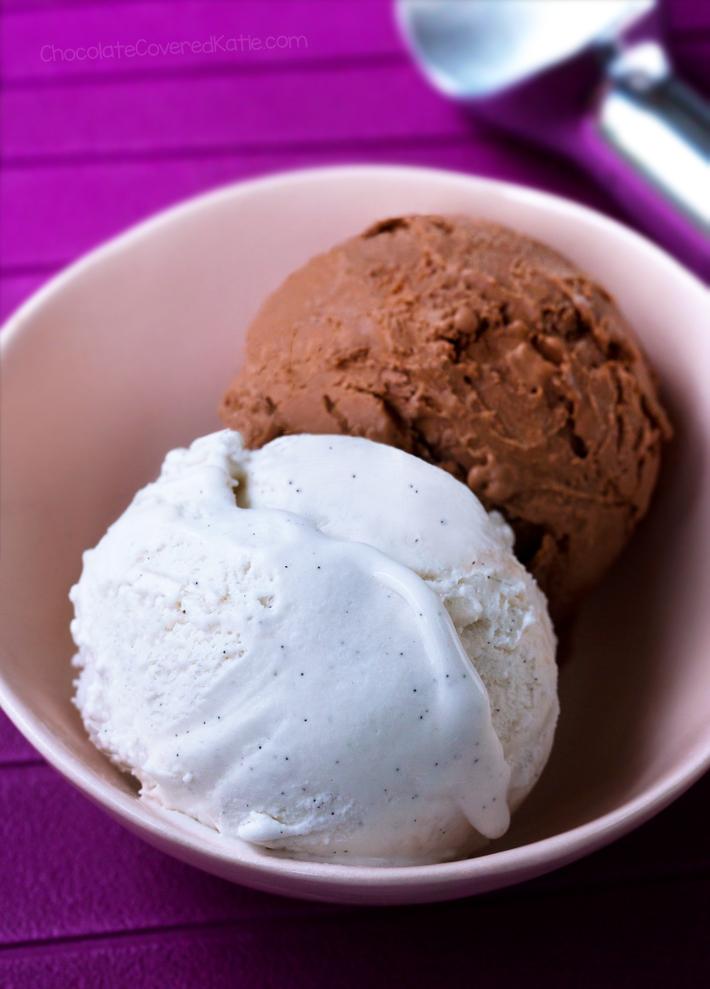 """Crème glacée à faible teneur en glucides"""" width=""""600"""