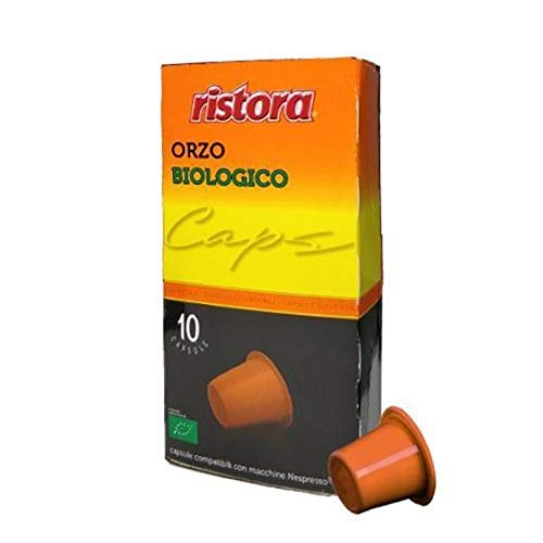 120 Capsules Compatibles Nespresso Ristora Orge Bio