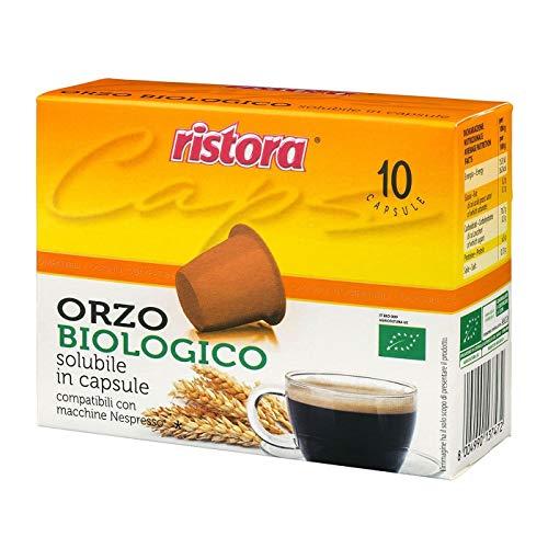 50 Dosettes Capsules Compatibles Nespresso Ristora Bio Orge Original