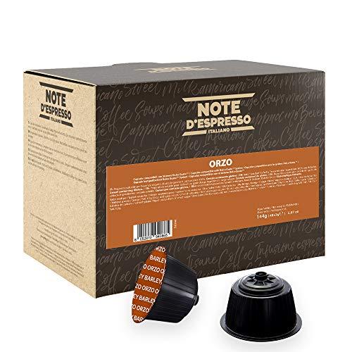 Note D'Espresso - Orge - Capsules Compatibles Uniquement avec Nescafé et Dolce Gusto* - Pack de 48