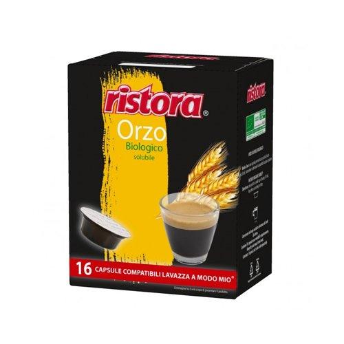 128 capsules Ristora Orzo compatibles avec Lavazza A Modo Mio