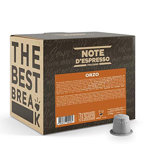 Note D'Espresso - Orge - Capsules Compatibles Uniquement avec le Système Nespresso* - Pack de 100 x 2.7g