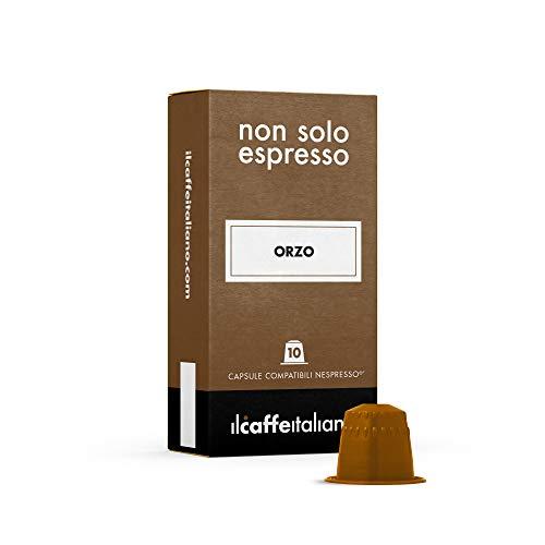 FRHOME - 50 capsules d'orge - Compatible avec les machines à café Nespresso Il Caffè Italiano