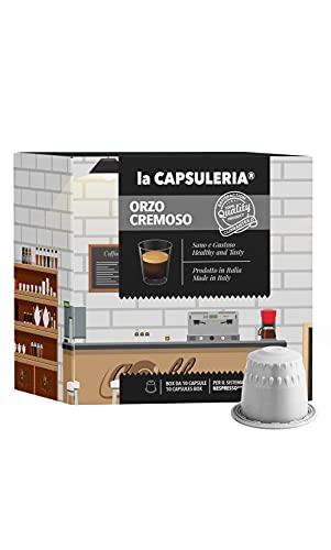 La Capsuleria® Capsules Compatibles NESPRESSO - ORGE CRÉMEUSE (80 Capsules)