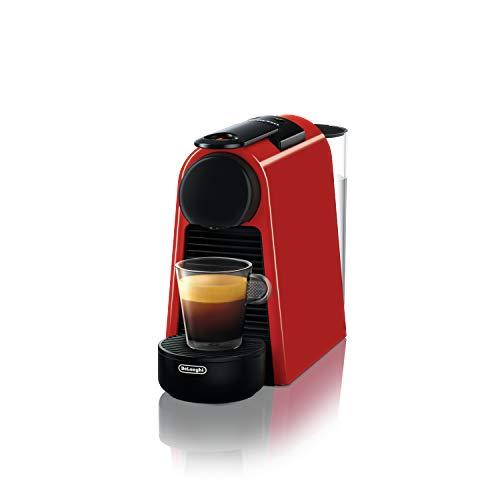 Nespresso EN 85.R Essenza Mini Machines à Café, 1370 W, 1 Tasse, Plastique, Rouge