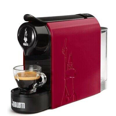 Gioia, Machine à Café Capsule Rouge, Plastique, Bialetti