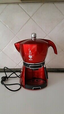 Machine à café expresso Mokona Bialetti Cf40 Rouge