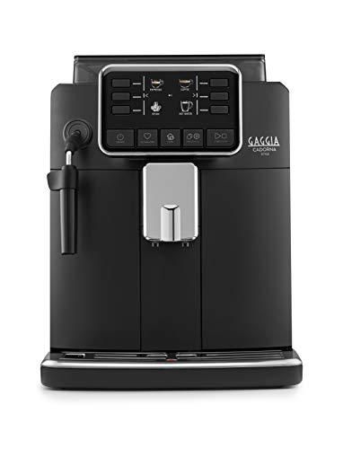Gaggia Cadorna Style Macchina da Caffè Automatica per Espresso e Cappuccino, Caffè in Grani o Macinato, RI9600 01