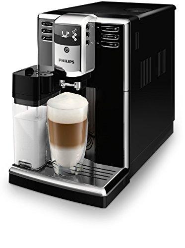 Philips EP5360 10 Serie 5000 Macchina da Caffè Automatica, 230 V, 1.8 l, con Macine in Ceramica, Filtro Aquaclean, Nero