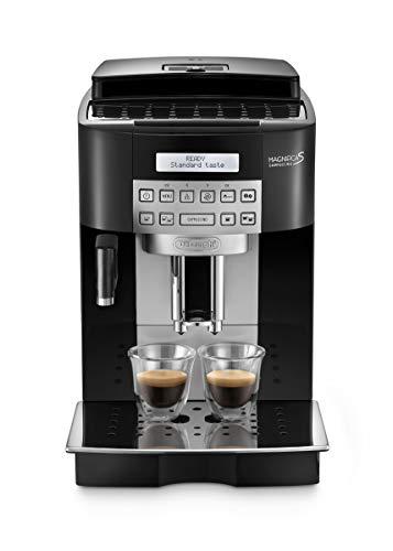 De Longhi Magnifica S ECAM22.360.B Machine à café automatique pour expresso et cappuccino, café en grains ou en poudre, 1450 W, noir