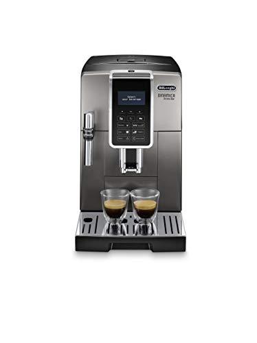 De'Longhi ECAM359.37.TB Macchina da caffè Automatica Dinamica Aroma Bar, 1450 W, Plastica, Titanio Nero