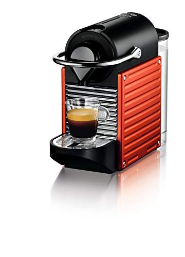 Machine à expresso Krups Nespresso Pixie XN3045K, recettes programmables, 1260 W, rouge, 0,7 litre, rouge