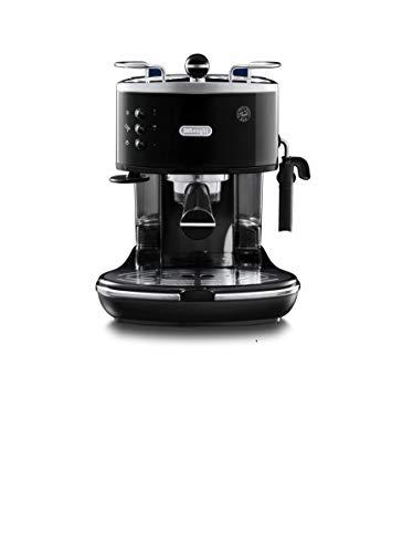 De Longhi Icona Eco 311.BK Machine à expresso et cappuccino manuelle, café en poudre ou dosettes E.S.E., 1100 W, noir
