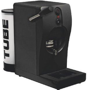 MACHINE À CAFÉ À PODS MOD. TUBE NOIR 220V + 150 GODETS MUSETTI