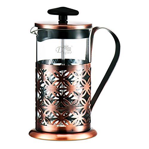 Cafetière à piston Presse à café française Omino Cafetière Filtre-presse Machine à cappuccino manuelle Plongeur Machine à café française