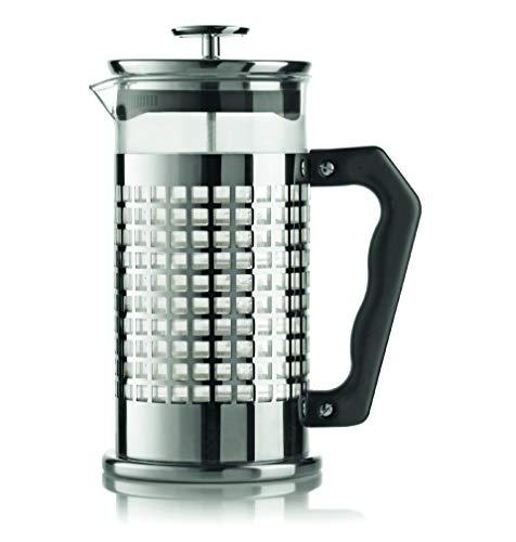 Bialetti 0003270 NW Coffee Press Trendy, Caffettiera Pressofiltro 8 Tazze, 8 Cups, Acciaio Inossidabile