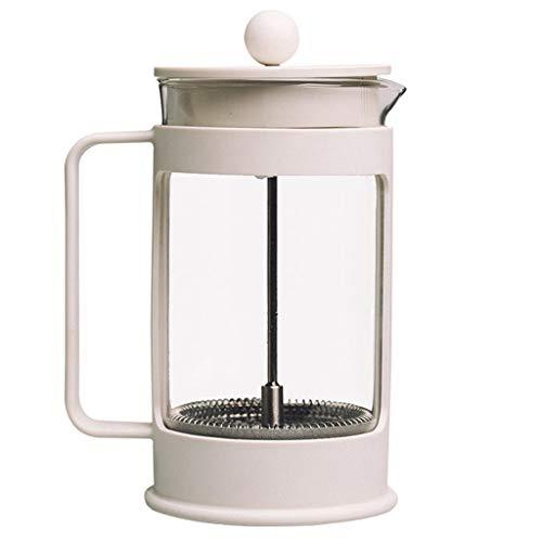 HYJBGGH Caffettiere a pistone Caffettiera Pressofiltro Macchina, Coffee Press, Macchina da caffè con Gusto Massimo con Filtro in Acciaio Inossidabile A 3 Livelli per Ufficio, Cucina