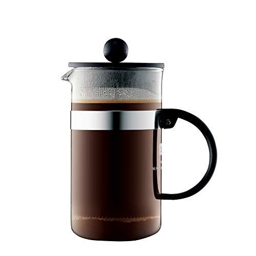 Bodum Bistro Nouveau Caffettiera da 3 tazze, colore: Nero, 6 Unità