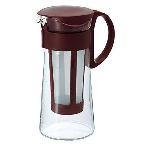 Caffettiere Teiere Caffettiera Caffettiere A Pistone Pressofiltro Caffettiera Espresso French Press Caffettiera Express Macchina for caffè Filtro Vetro Termoresistente A Estrazione Fredda GAOFENG