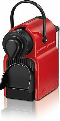 Nespresso Inissia 2020 Machine à expresso 1260 W 0,7 L Rosso Ruby RED.