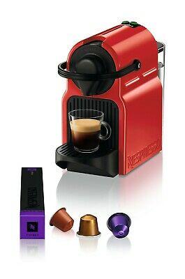 Krups Inissia Machine à café expresso, capsule, 1260 W, 0,7 L, Rouge