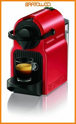 Nespresso Inissia Machine à café expresso, capsule, 1260 W, 0,7 L, Rouge