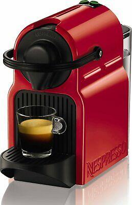 Machine à Café Capsule Nespresso Rouge KRUPS Inissia XN1005