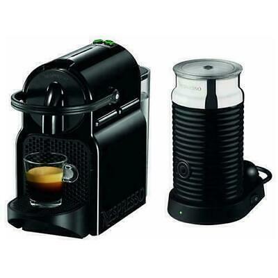 DE LONGHI EN80. BAE Inissia + Machine à café Nespresso Aeroccino + Mousseur à lait