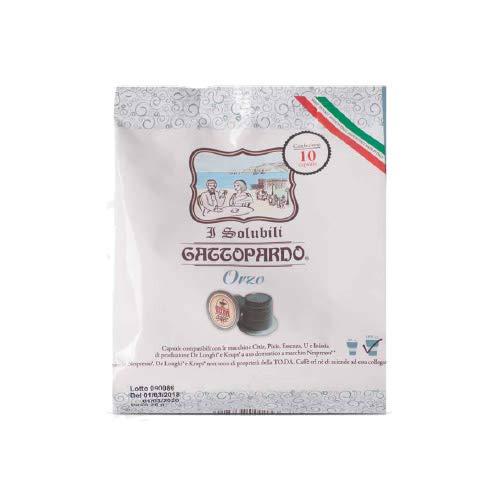Compatible NESPRESSO 160 Capsules ORGE Gattopardo