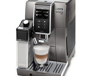 De'Longhi ECAM370.95.T Machine à café dynamique automatique, 1450 W, 1,8 Litres, Plastique, Titane