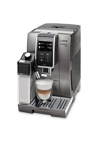 De Longhi ECAM370.95.T Machine à café dynamique automatique, 1450 W, 1,8 Litres, Plastique, Titane